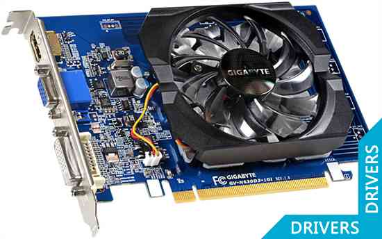 Видеокарта Gigabyte GeForce GT 630 1024MB DDR3 (GV-N630D3-1GI (rev. 2.0))