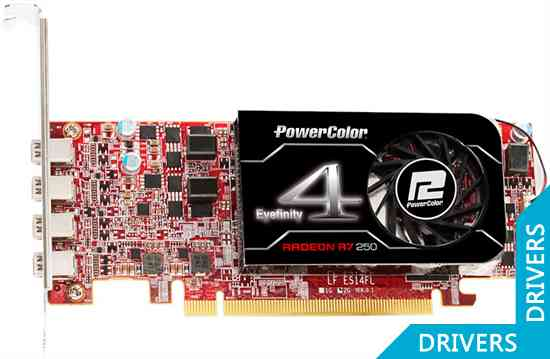 Видеокарта PowerColor R7 250 2GB GDDR5 (AXR7 250 2GBD5-4DL)