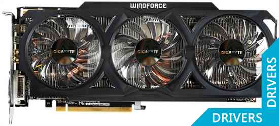 Видеокарта Gigabyte R9 280 WindForce 3 OC 3GB GDDR5 (GV-R928WF3OC-3GD)
