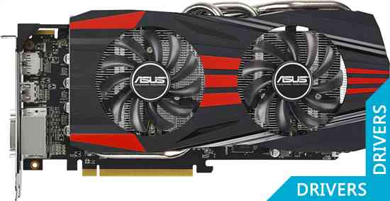 Видеокарта ASUS R9 270X Direct CU II TOP 4GB GDDR5 (R9270X-DC2T-4GD5)