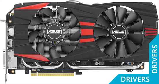 Видеокарта ASUS R9 280 Direct CU II 3GB GDDR5 (R9280-DC2-3GD5)