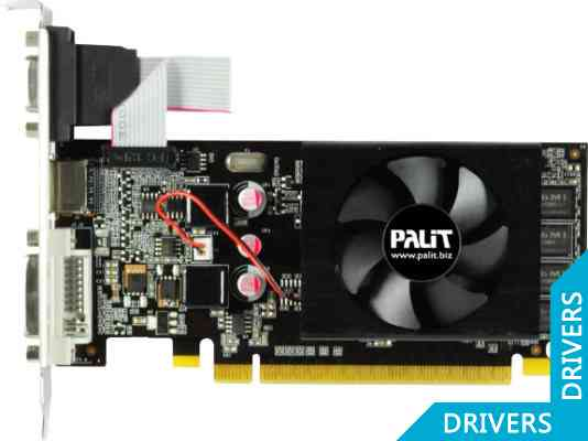 Видеокарта Palit GeForce GT 610 1024MB DDR3 (NEAT6100HD06-1196F)