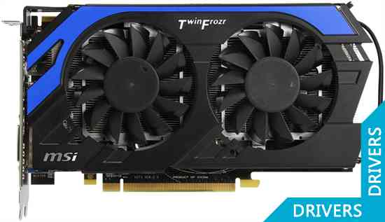 Видеокарта MSI HD 7850 Hawk 2GB GDDR5 (R7850 Hawk)