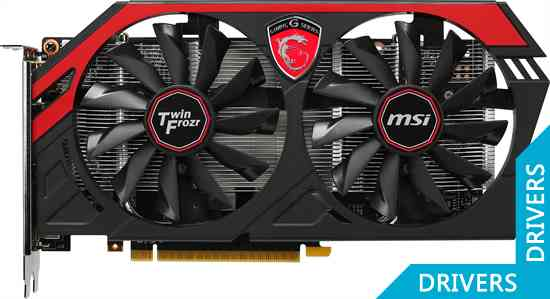 Видеокарта MSI GeForce GTX 750 Ti Gaming 2GB GDDR5 (N750Ti TF 2GD5/OC)