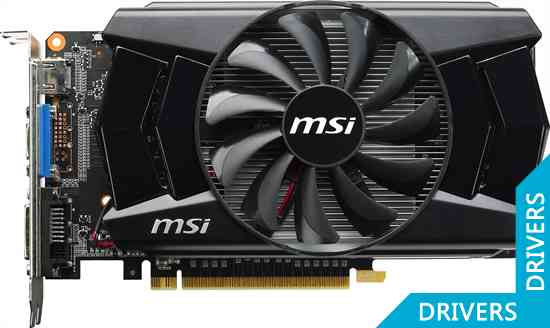 Видеокарта MSI GeForce GTX 750 Ti OC 2GB GDDR5 (N750Ti-2GD5/OC)