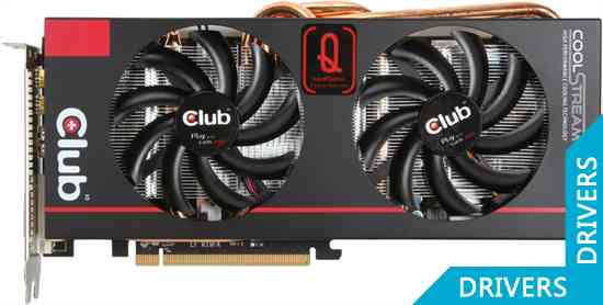 Видеокарта Club 3D R9 280X royalQueen 3GB GDDR5 (CGAX-R928X7)