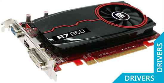Видеокарта PowerColor R7 250 2GB DDR3 (AXR7 250 2GBK3-HE)
