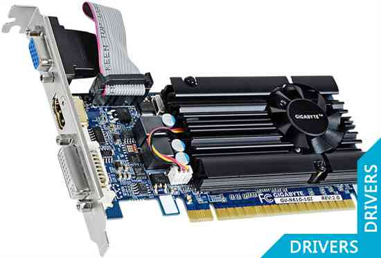 Видеокарта Gigabyte GeForce GT 610 1024MB DDR3 (GV-N610-1GI (rev. 2.0))