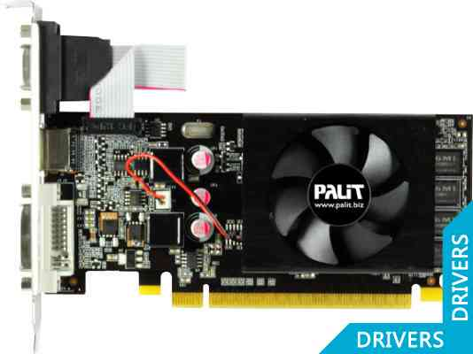Видеокарта Palit GeForce 210 1024MB DDR3 (NEAG2100HD06-1196F)