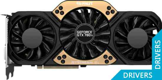 Видеокарта Palit GeForce GTX 780 Ti JETSTREAM 3GB GDDR5 (NE5X78TH10FB-1100J)