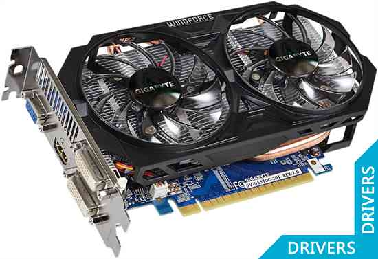 Видеокарта Gigabyte GeForce GTX 650 Ti OC 2GB GDDR5 (GV-N65TOC-2GI (rev. 2.0))
