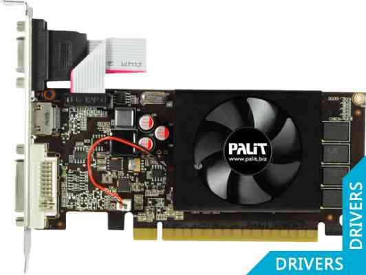 Видеокарта Palit GeForce GT 610 2GB DDR3 (NEAT6100HD46-1086F)