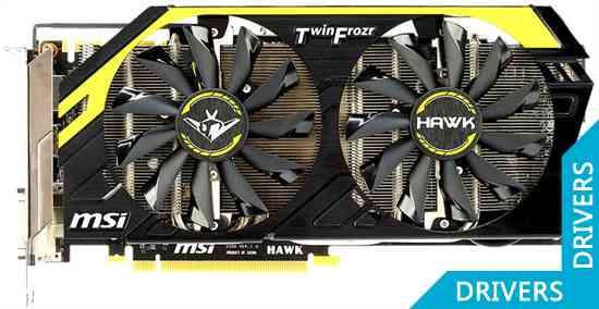 Видеокарта MSI GeForce GTX 760 HAWK Lite Edition 2GB GDDR5 (N760 HAWK LE)