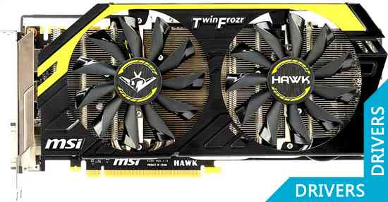 Видеокарта MSI GeForce GTX 760 HAWK 2GB GDDR5 (N760 HAWK)