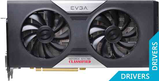 Видеокарта EVGA GeForce GTX 780 Dual Classified 3GB GDDR5 (03G-P4-3788)