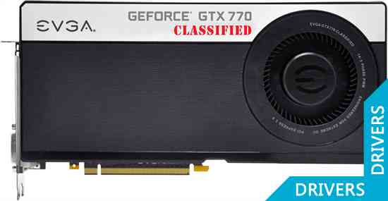 Видеокарта EVGA GeForce GTX 770 4GB Dual Classified 4GB GDDR5 (04G-P4-3777)