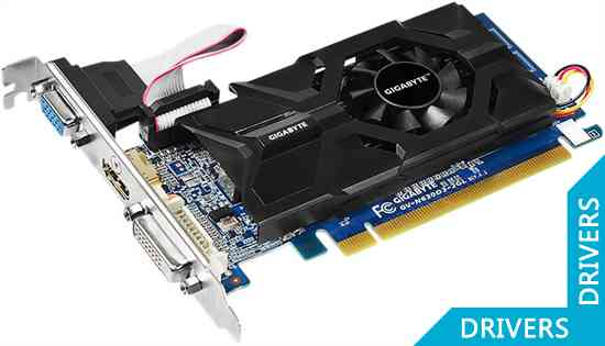 Видеокарта Gigabyte GeForce GT 630 2GB DDR3 (GV-N630D3-2GL)