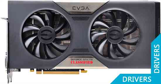 Видеокарта EVGA GeForce GTX 770 Classified 4GB GDDR5 (04G-P4-3778)