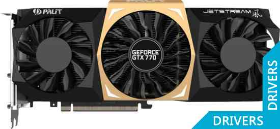 Видеокарта Palit GeForce GTX 770 JETSTREAM 4GB GDDR5 (NE5X770010G2-1041J)