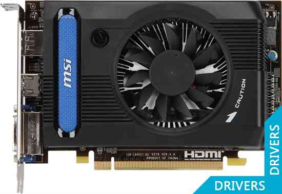 Видеокарта MSI HD 7750 2GB DDR3 (R7750-2GD3)