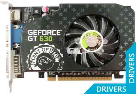 Видеокарта Point of View GeForce GT 630 2GB DDR3 (VGA-630-C1-2048)