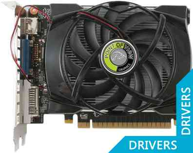 Видеокарта Point of View GeForce GTX 650 Ti 1024MB GDDR5 (VGA-650i-A1-1024)