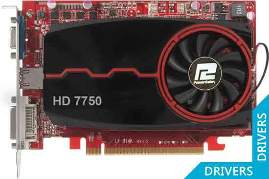Видеокарта PowerColor HD 7750 4GB DDR3 (AX7750 4GBK3-H)