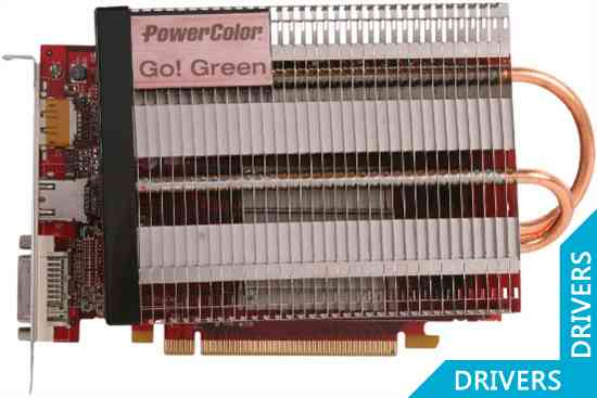 Видеокарта PowerColor Go! Green HD 7750 1024MB GDDR5 (AX7750 1GBD5-NH)