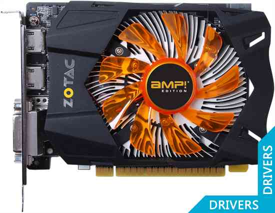 Видеокарта ZOTAC GeForce GTX 650 AMP! 2GB GDDDR5 (ZT-61003-10M)