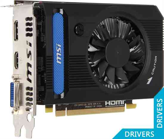 Видеокарта MSI HD 7750 2GB DDR3 (R7750-PMD2GD3)