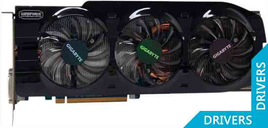 Видеокарта Gigabyte GeForce GTX 680 OC 4GB GDDR5 (GV-N680OC-4GD)