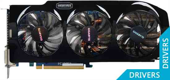Видеокарта Gigabyte GeForce GTX 680 WindForce 3 2GB GDDR5 (GV-N680WF3-2GD)