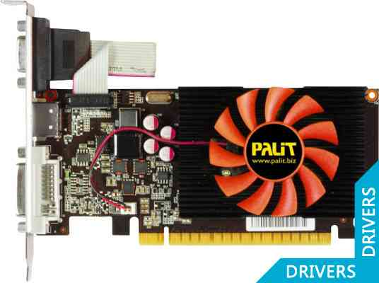 Видеокарта Palit GeForce GT 440 2GB DDR3 (NEAT4400HD41-1085F)
