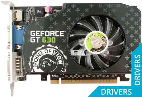 Видеокарта Point of View GeForce GT 630 2GB DDR3 (VGA-630-A1-2048)