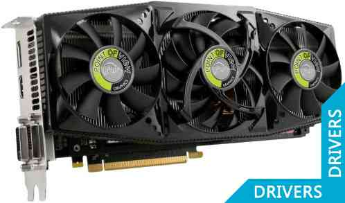 Видеокарта Point of View GeForce GTX 680 EXO 2GB GDDR5 (VGA-680-A1-OC)