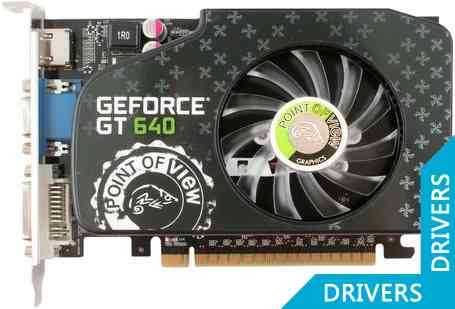 Видеокарта Point of View GeForce GT 640 1024MB DDR3 (VGA-640-A1-1024)