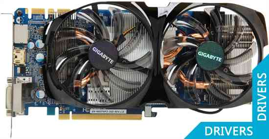 Видеокарта Gigabyte GeForce GTX 660 Ti 2GB GDDR5 (GV-N66TWF2-2GD)