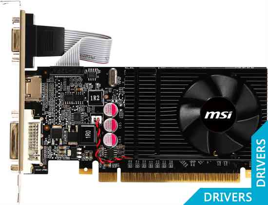 Видеокарта MSI GeForce GT 610 1024MB DDR3 (N610GT-MD1GD3/LP)
