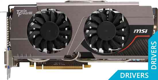 Видеокарта MSI GeForce GTX 680 4GB GDDR5 (N680GTX Twin Frozr 4GD5)
