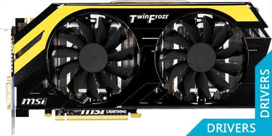 Видеокарта MSI Geforce GTX 680 2GB GDDR5 (N680GTX Lightning)