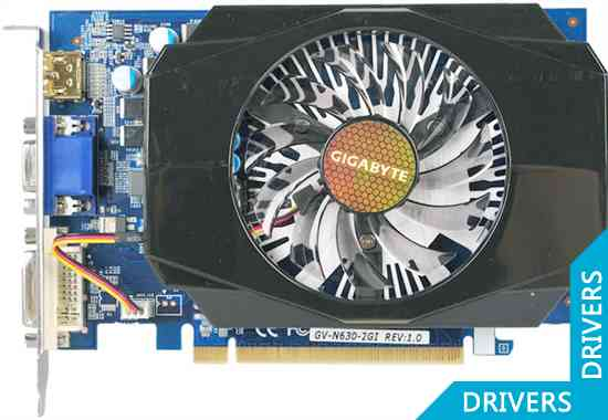 Видеокарта Gigabyte GeForce GT 630 2GB DDR3 (GV-N630-2GI)