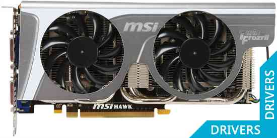Видеокарта MSI GeForce GTX 460 1024MB GDDR5 (N460GTX Hawk Talon Attack)