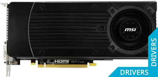 Видеокарта MSI GeForce GTX 670 2GB GDDR5 (N670GTX-PM2D2GD5/OC)