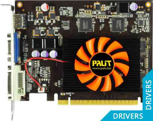 Видеокарта Palit GeForce GT 630 1024MB GDDR5 (NE5T6300HD01-1083F)