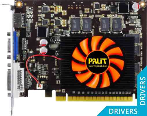 Видеокарта Palit GeForce GT 630 1024MB DDR3 (NEAT6300HD01-1080F)