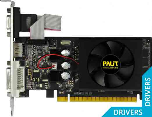 Видеокарта Palit GeForce GT 610 1024MB DDR3 (NEAT6100HD06-1193F)