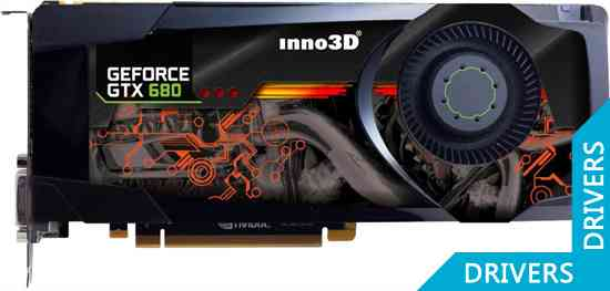 Видеокарта Inno3D GeForce GTX 680 2GB GDDR5 (N680-1DDN-E5DS)
