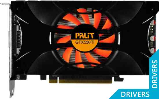 Видеокарта Palit GeForce GTX 550 Ti 1024MB GDDR5 (NE5X55T0HD09-1060F)