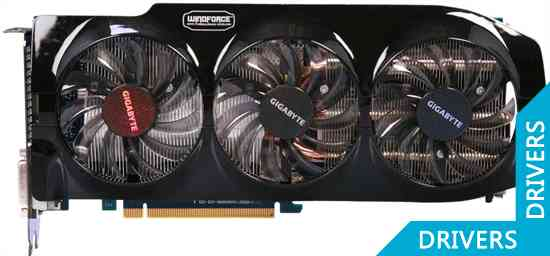 Видеокарта Gigabyte GeForce GTX 680 2GB GDDR5 (GV-N680OC-2GD)