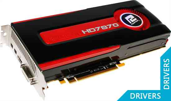 Видеокарта PowerColor HD 7870 2GB GDDR5 (AX7870 2GBD5-2DH)